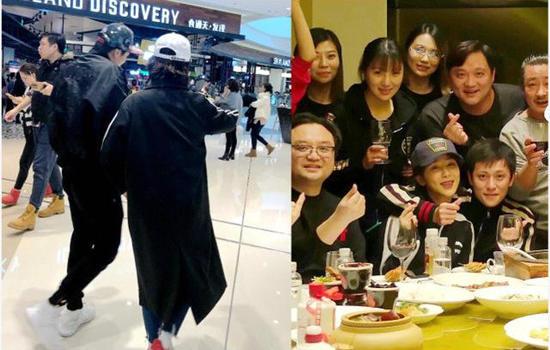 杨紫秦俊杰低调跨年 隔天两人一起逛街超甜蜜