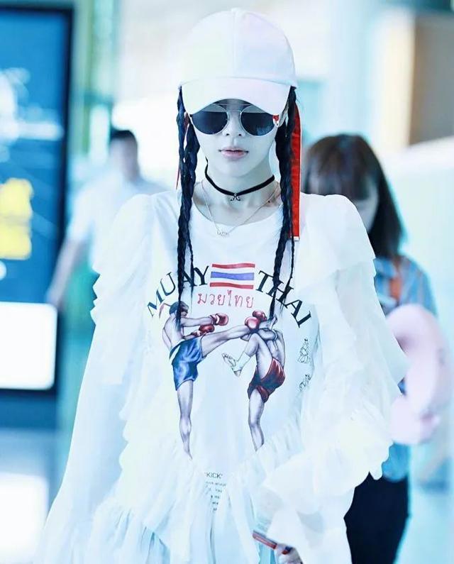 公主范的李小璐梳脏辫爱上嘻哈风,要不是为了爱,怎会变这么多