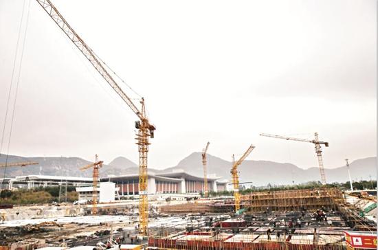 ca88亚洲城手机版下载_泉州动车站综合交通枢纽项目 明年春运有望投用