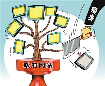 北京政府网站大瘦身:1042家官网精简至80多家