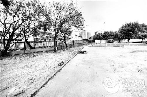 福州:串珠公园预留绿地 2500㎡遭破坏