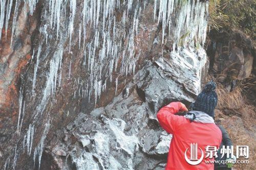 泉州德化、安溪等地飘雪下霰 周四周五寒气逼人