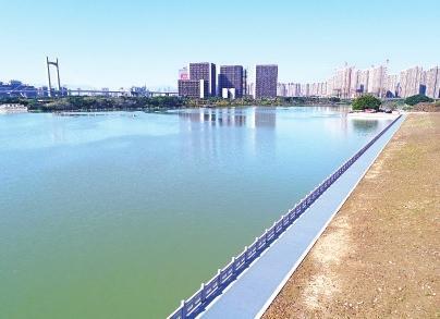 福州光明港退地还河 打造湖景公园