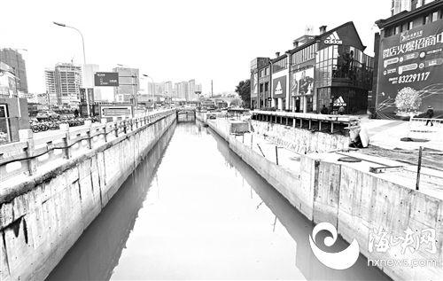 福州:紧邻工业路的大庆河告别黑臭 沿河将建串珠公园