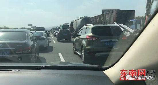 惨烈!3人身亡!沈海高速福泉福州段小车相撞!女乘客被甩出!