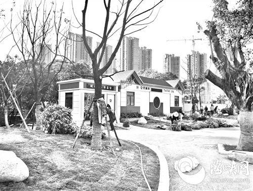 福州部分串珠公园 将配建公厕、图书馆