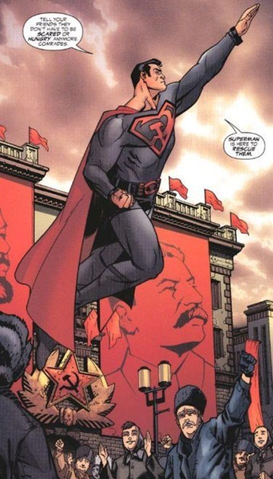 经典DC漫画《超人:红色之子》可能拍动画电影?
