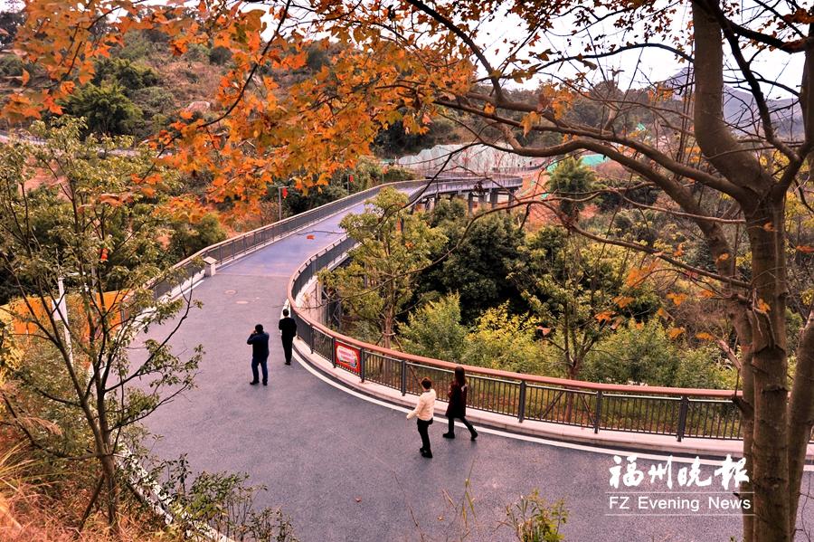罗源凤梅生态公园春节前开园 步道伸巨臂拉起凤山和梅岭