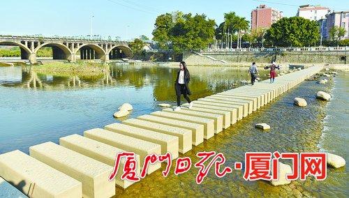 厦门同安东西溪慢行系统二三期春节前将完工