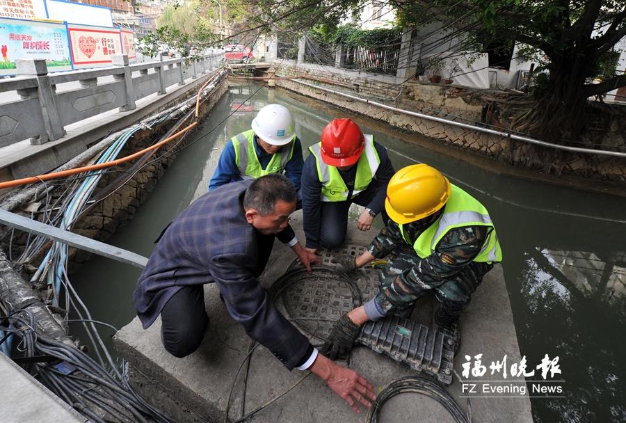 """福州城区内河沿岸全面整治""""蜘蛛网"""" 涉及887个项目"""