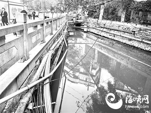 """福州内河沿岸 杂乱管线将""""整容"""""""