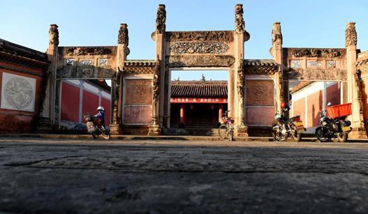 客家人祖居地上的古文庙