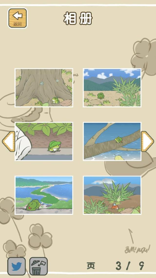 《旅行青蛙》玩够三个月,才能看到的宝贵资料和图片