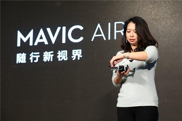 大疆:Mavic Air从内到外都是全新的无人机产品