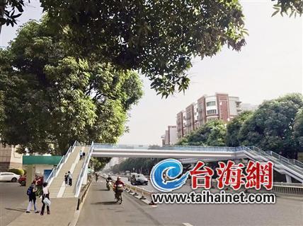漳州市区将新建6座景观天桥 预计年底建成投用