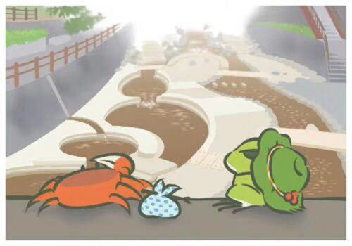 在等待旅行青蛙给自己寄照片的过程中,是不是很寂寞呢?