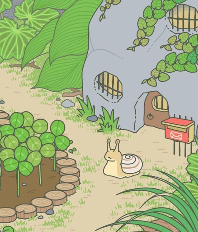 旅行青蛙怎样给串门的小动物喂食物才能留下礼物