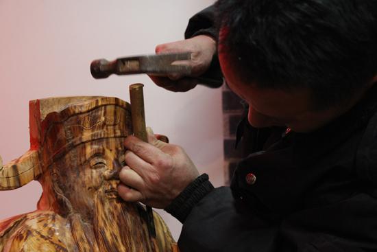 山西省首个非物质文化遗产文创基地落户太原五一广场