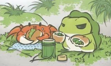 旅行青蛙是丈夫不是儿子?网友:青蛙寄回来的照片全是出轨证据?