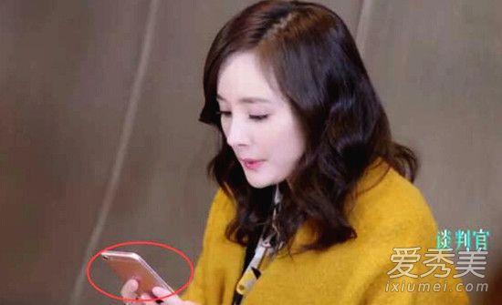谈判官杨幂用的手机是什么牌子型号?_看电视