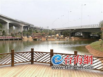漳州龙海市民新增好去处 月港湿地公园春节前对外开放