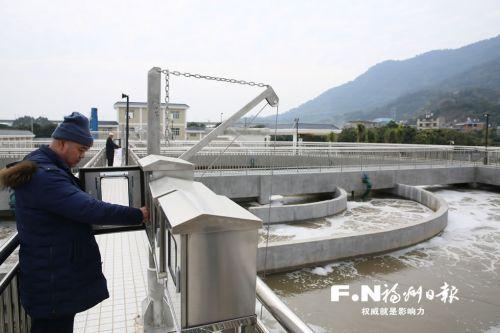 高博亚洲在线闽侯竹岐鸿尾两座污水处理厂投入试运行