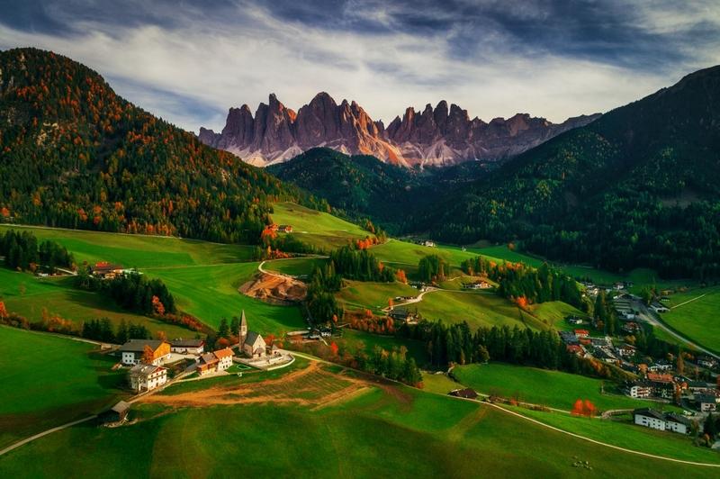 乡村风景照片高清