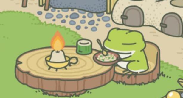 旅行青蛙老母亲再出新招,蛙儿子收集了七颗龙珠召唤出神龙