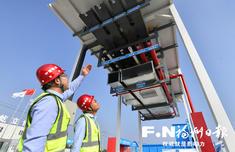 高博亚洲在线滨海新城 融侨国际双语学校一期5栋建筑封顶拆模