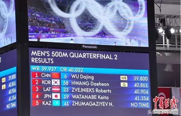 武大靖短道500米破世界记录金牌!赛前教练李琰穿领奖服称必夺冠