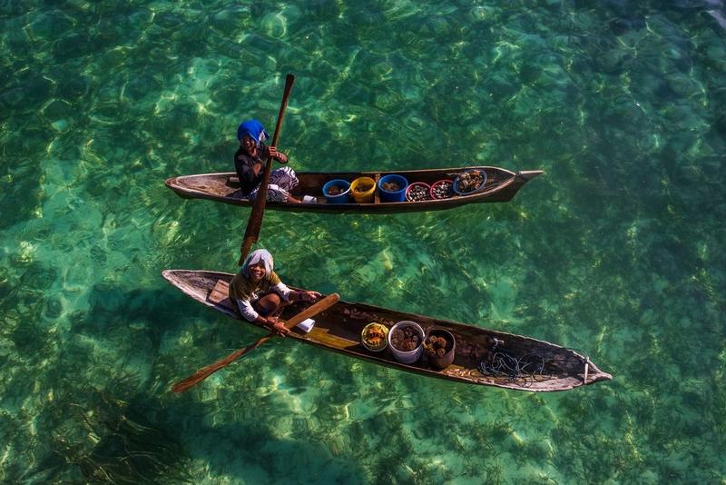 海上游牧者:一生生活在海上的东南亚巴瑶族人