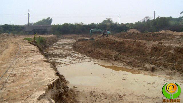 漳州丰山镇芹寨坂排洪渠工程力争下半年竣工投用