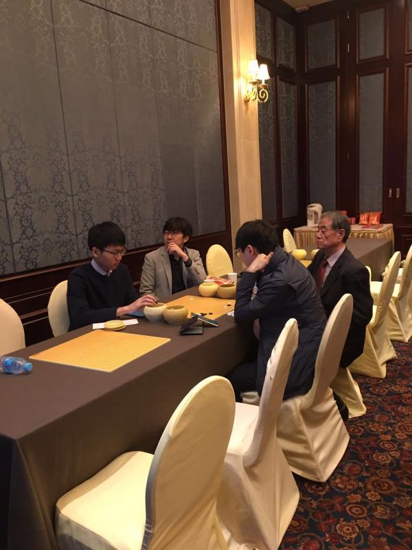 柯洁执白负韩国副将金志锡 农心杯中国无缘5连冠