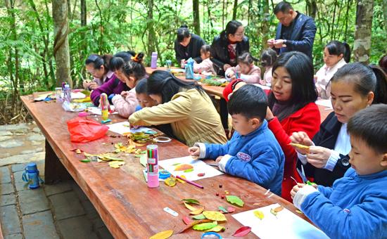 三明尤溪县九阜山景区成了自然研学的好去处