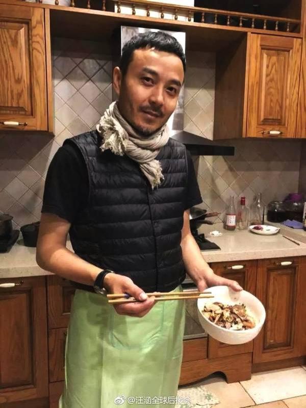 汪涵厨艺超绝,杨乐乐简直太有福气,在家里想吃什么点什么