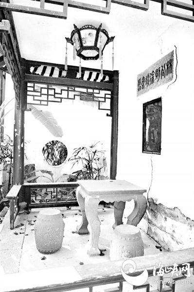 新濠天地娱乐平台西湖桂斋启动修缮工程 近年少有开放因设施损毁