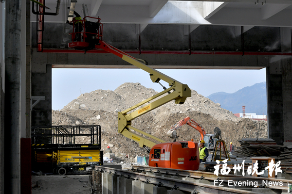福州地铁2号线鼓山车辆段3天后将迎来首辆列车