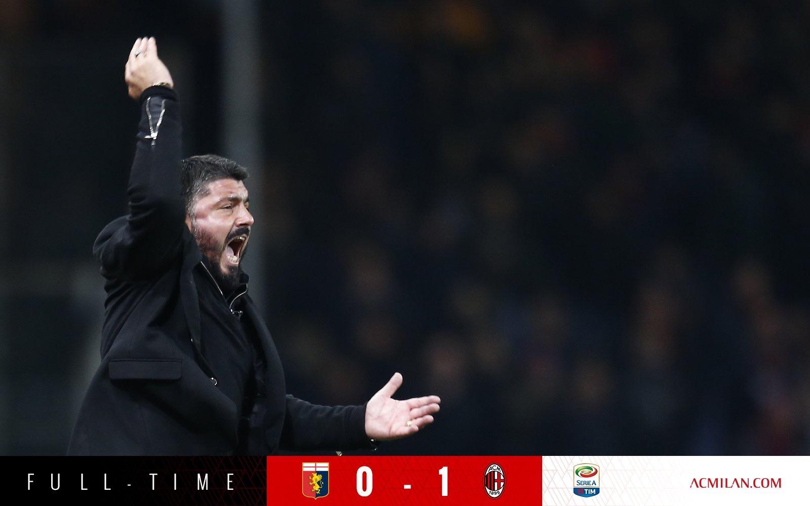 意甲-A席补时第4分钟绝杀 米兰1-0热那亚升至第6