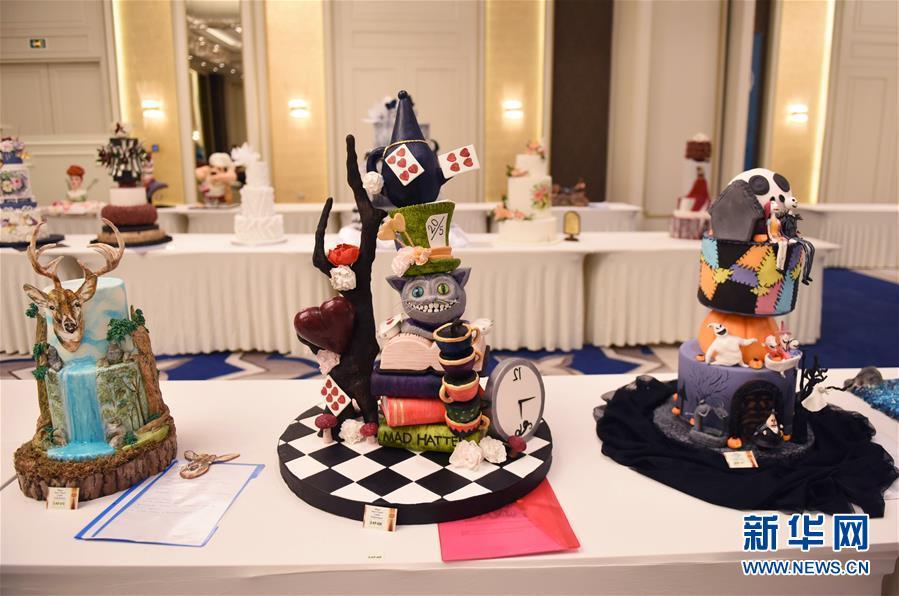伊斯坦布尔糕点节:200名大师创造艺术品世界