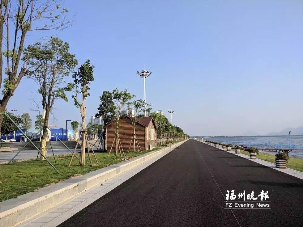 福州滨海新城东湖公园11月底前投用 水域面积3000亩