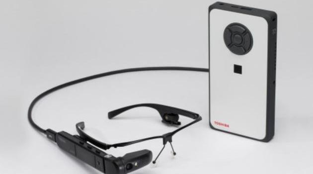 东芝发布分体式智能眼镜dynaEdge:运行完整Win10