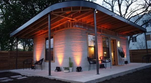被高房价逼的:3D打印房屋造价每平米为1000元