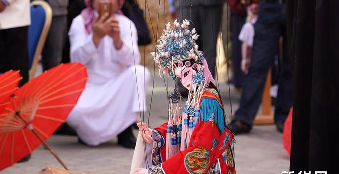 浙江文化艺术遗产闪耀约旦佩特拉古城
