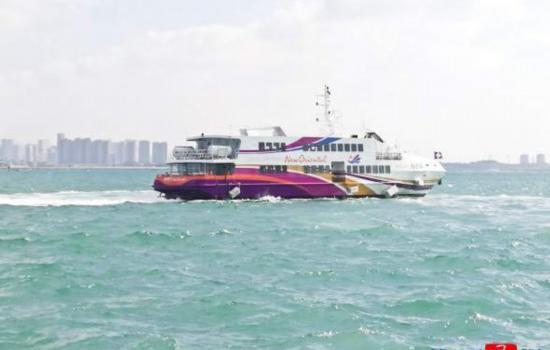 """拥有320个客位 """"新东方""""轮船加入厦金航线"""