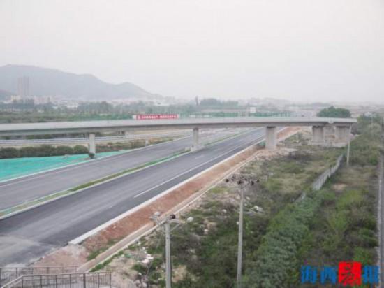 国道改线拉近海沧同安 国道324线7月主线通车