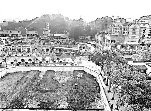 福州南门兜将建文庙配套绿地广场