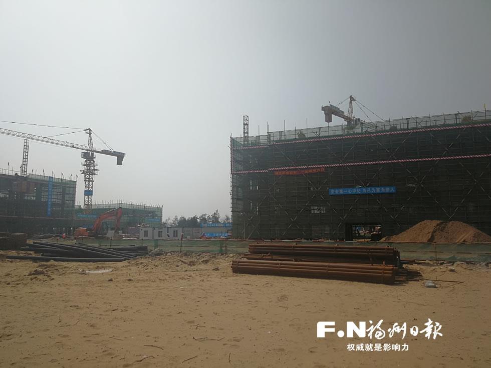 滨海新城融侨双语学校启动全球招生 一期月底完工