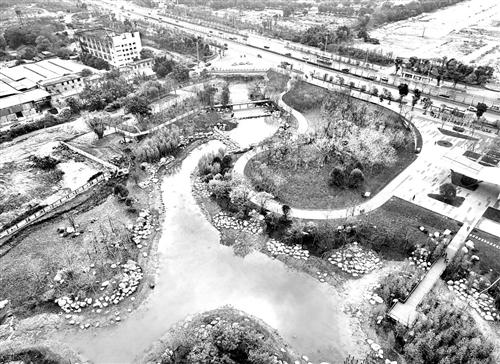 福州凤坂一支河启动治理工程 贯穿三大公园汇入晋安湖