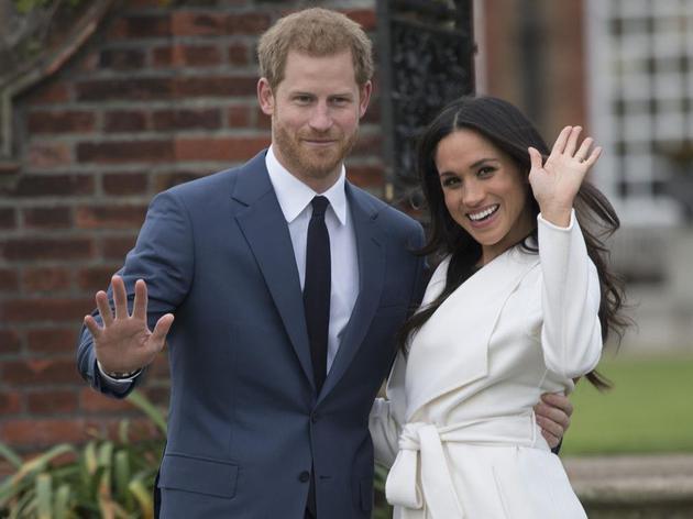 哈里王子5月大婚:和未婚妻共选特色婚礼蛋糕