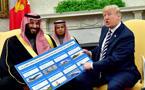 沙特下特朗普125亿订单